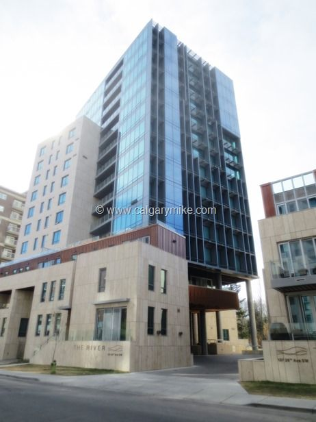 The River - One of Calgary's premier executive condominium complexes.  The River has set the bar for all others.