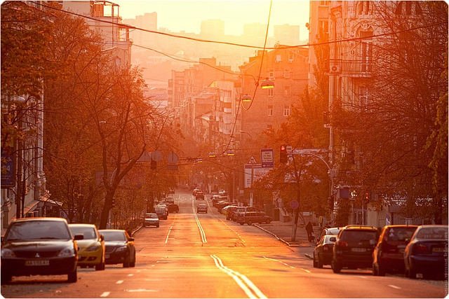 Kiev, 1716PM (With images) Kiev, Street, Light