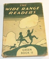Wide Range Readers - Old School Reading Books. There were Green Books I to IV and Blue Books I to IV