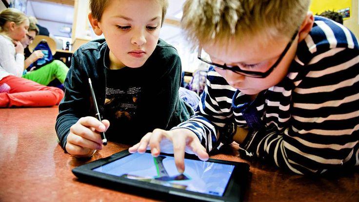 4. klassingene som animerer på iPad