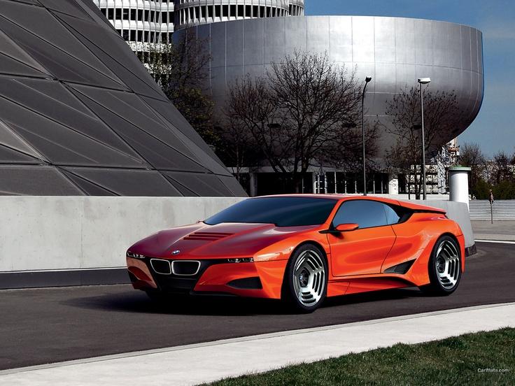 BMW M1 Concept 1600x1200 b44 - Tapety na pulpit - samochody sportowe, luksusowe, supersamochody