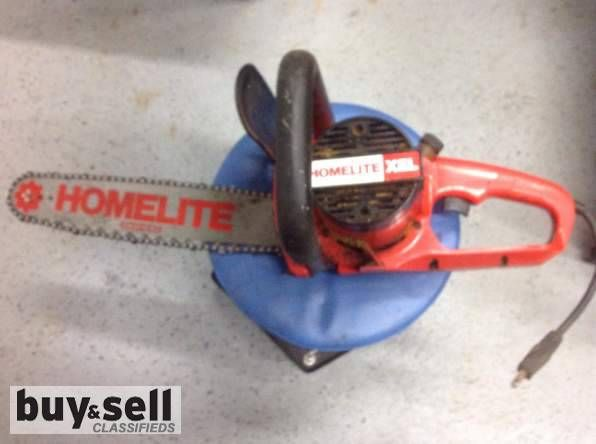 ELECTRIC Chainsaw, For Sale Homelite Electric in St. John's - Newfoundland Buy & Sell, New & Used