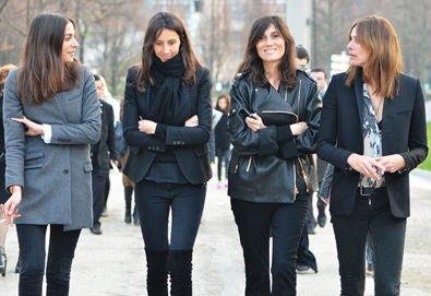 French Vogue Fashion Editors