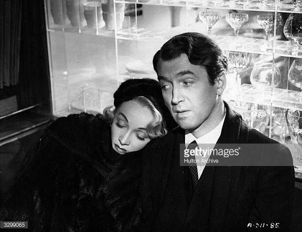 James Stewart stars with Marlene Dietrich in Henry Koster's film 'No Highway' adapted from the Nevil Shute novel