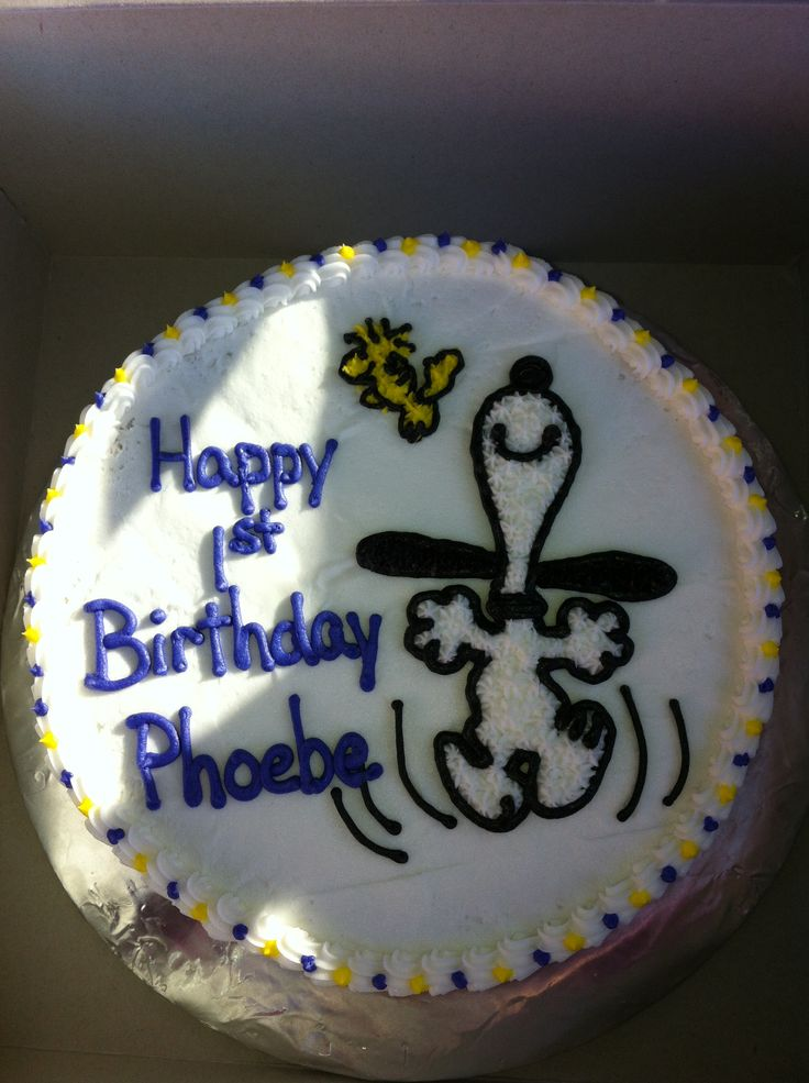 1000 Ideas About Snoopy Cake On Pinterest Themed Cakes