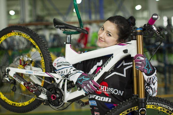 Holly Feniak loves Polygon bikes!