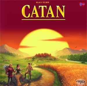 Catan, et brettspill fra Spillskrinet