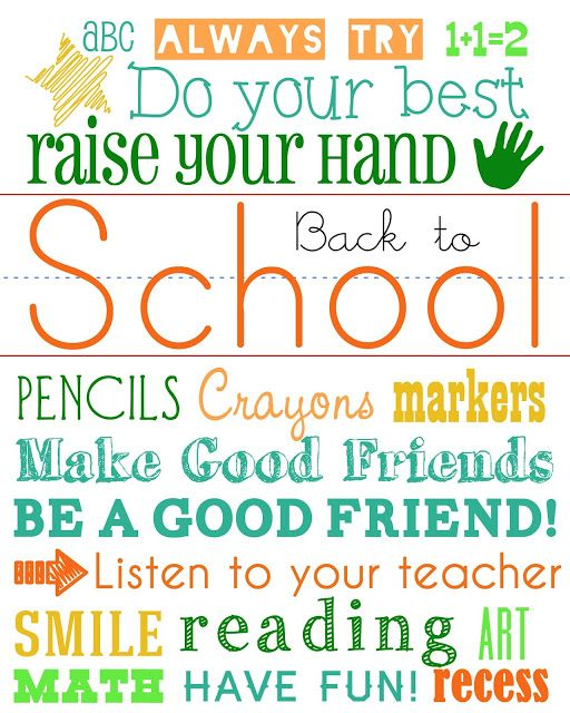 Best 25 school subway art ideas on pinterest best quotes for back to school subway art subwayart free printable pronofoot35fo Image collections