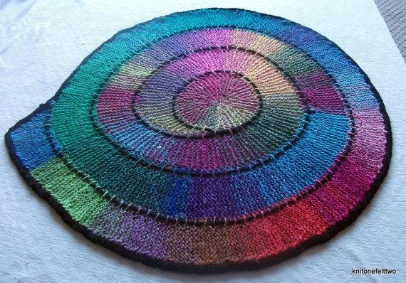 spiral rug/blanket?