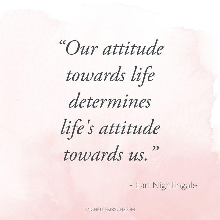 essay on attitude