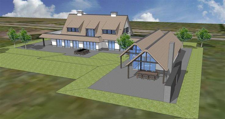 1000 images about huizen op pinterest bobs ramen en marcel - Model van huisarchitectuur ...