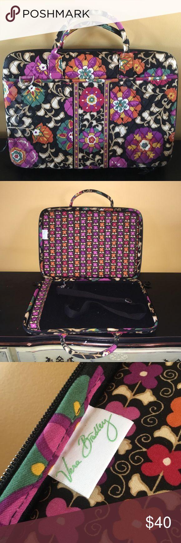 Vera Bradley laptop case MINT condition Vera Bradley laptop case. Includes all original straps. Vera Bradley Bags