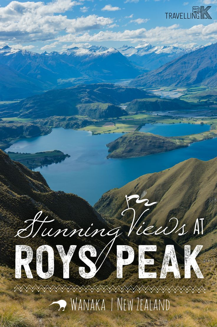 Roys Peak is a very popular hike, found just outside of Wanaka in New Zealand. It's straight up to the top but with beautiful views all the way.