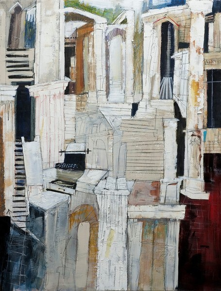 Dennis Campay: Paintings, Lost     In Transition, 2012