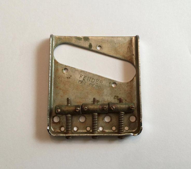 Our newest vintage piece is this Original 1954 Fen... Click on the link http://www.vintageguitarsli.com/products/1954-fender-telecaster-bridge?utm_campaign=social_autopilot&utm_source=pin&utm_medium=pin to learn more.