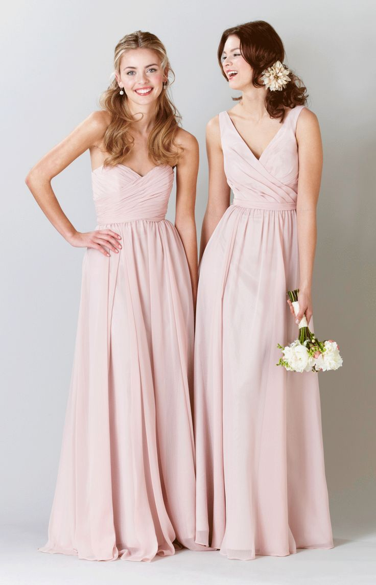 87 best pastel weddings images on pinterest pastel weddings anna wedding bridesmaidsblush bridesmaid dresses ombrellifo Image collections