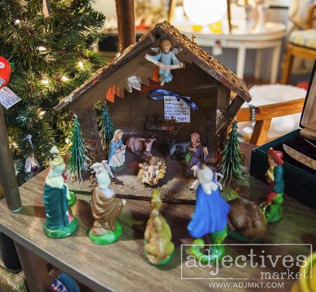 Antique Italian nativity by Mod45 at Adjectives Market