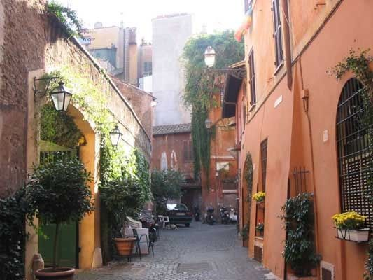 Trastevere, Roma - best part of rome to stay (2009)
