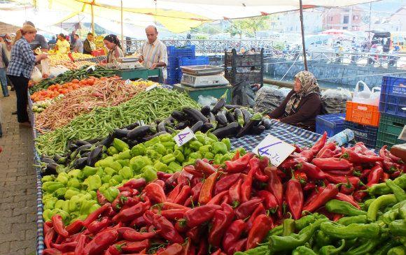 Fresh Veg At #Fethiye Market, Turkey