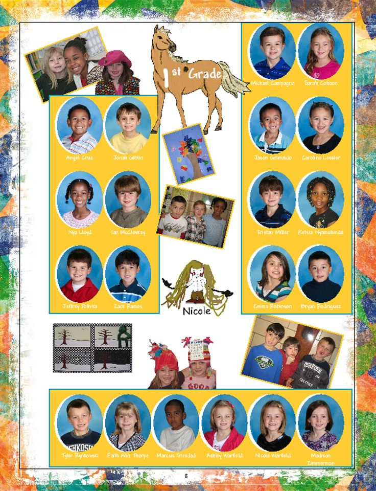 Classroom Yearbook Ideas ~ Yearbook page ideas google search pinterest