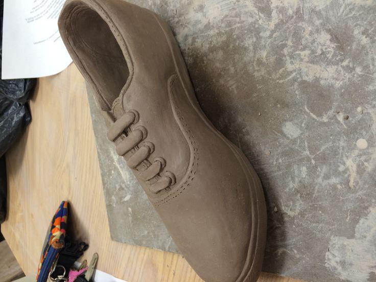 Ceramic Shoe project