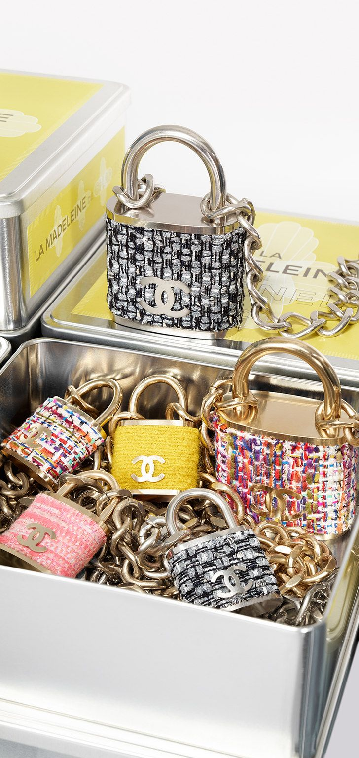 CHANEL FW2015 Padlock Necklaces