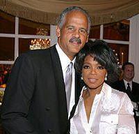 Oprah and longtime boyfriend Stedman Graham