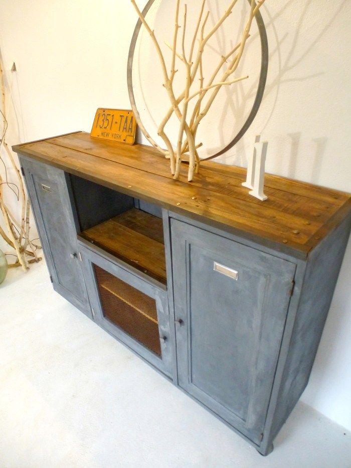 Les 720 meilleures images du tableau restauration de meubles sur pinterest - Restauration meuble industriel ...