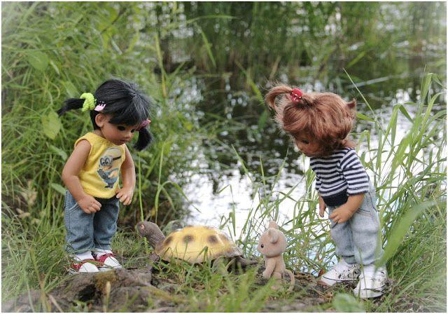 Дорога в мир волшебства и сказки...В мир прекрасный и загадочный...В мир кукол!: Путешествие к реке