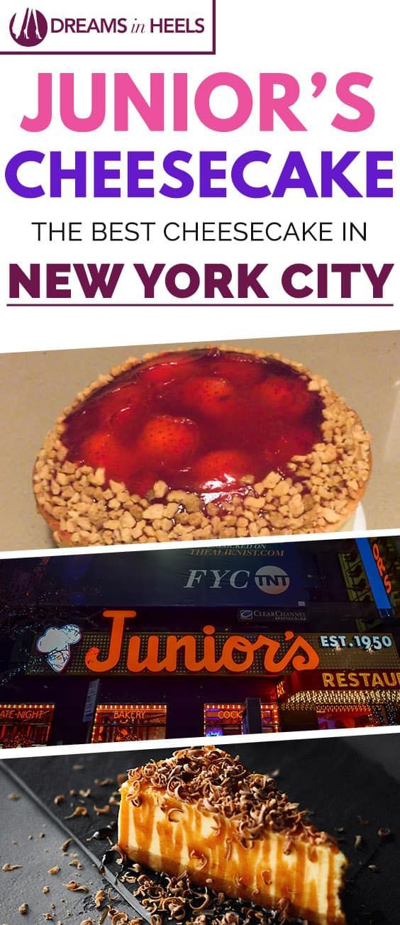 Junior's Cheesecake NYC, the Best Cheesecake in New York City – A real classic New York treat you must indulge before leaving NYC
