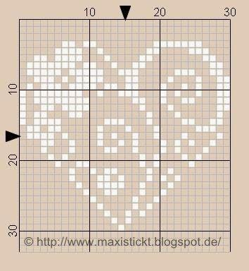 maxi stickt: Mein März Herz                                                                                                                                                     Mehr