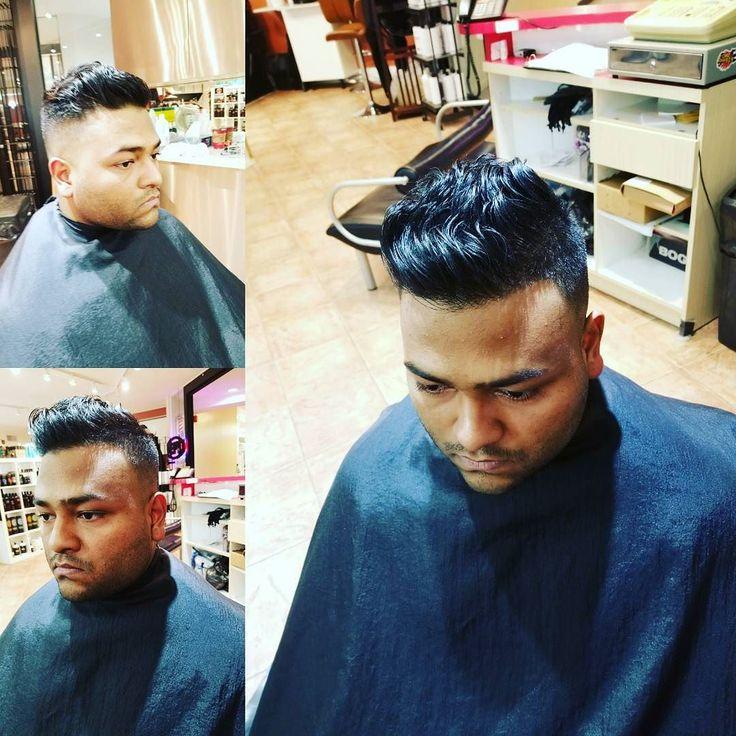 Exam Study Weekend. #menscut #mensgrooming #pompadour #hairbyjuliemorton #barber #clippers #etobicoke #thekingsway #humbertown