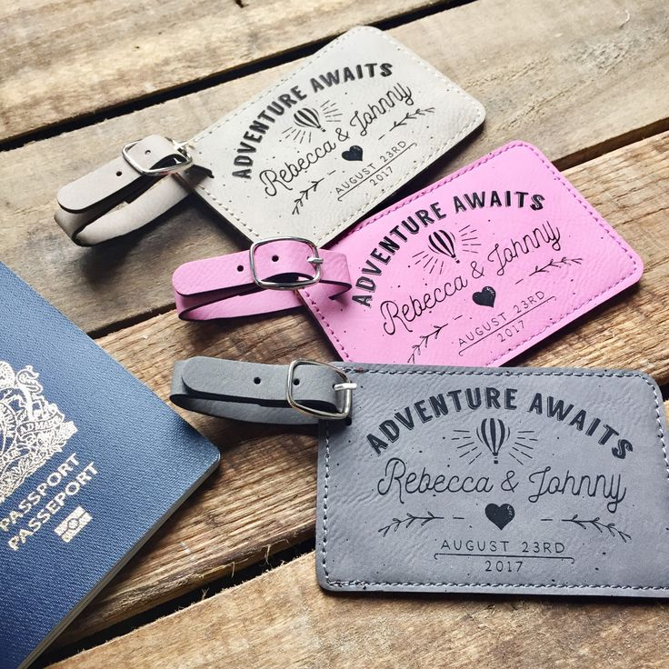 Personalized Luggage Tags Engraved Luggage Tags Mr and Mrs