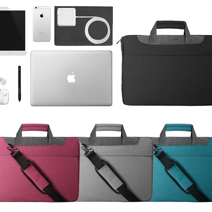 Laptop Bag Case Waterproof Notebook Laptop Bag 15.5 inch Computer Shoulder Bags #LFS