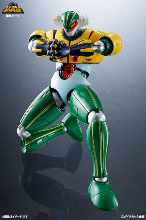 Super Robot Chogokin Steel Jeeg | CollectionDX