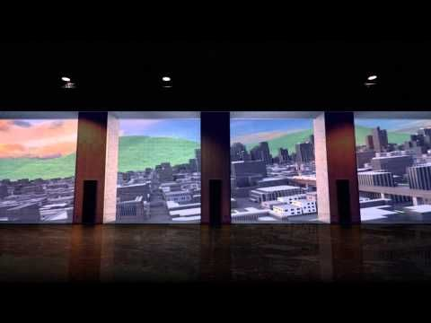Projection Mapping - Simon Fraser University (SFU) Vancouver - Go2 Productions