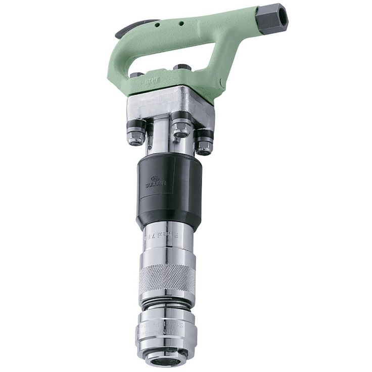 MCH-3S Air Powered Round Chuck Chipping Hammer with Quick Change Ball Retainer