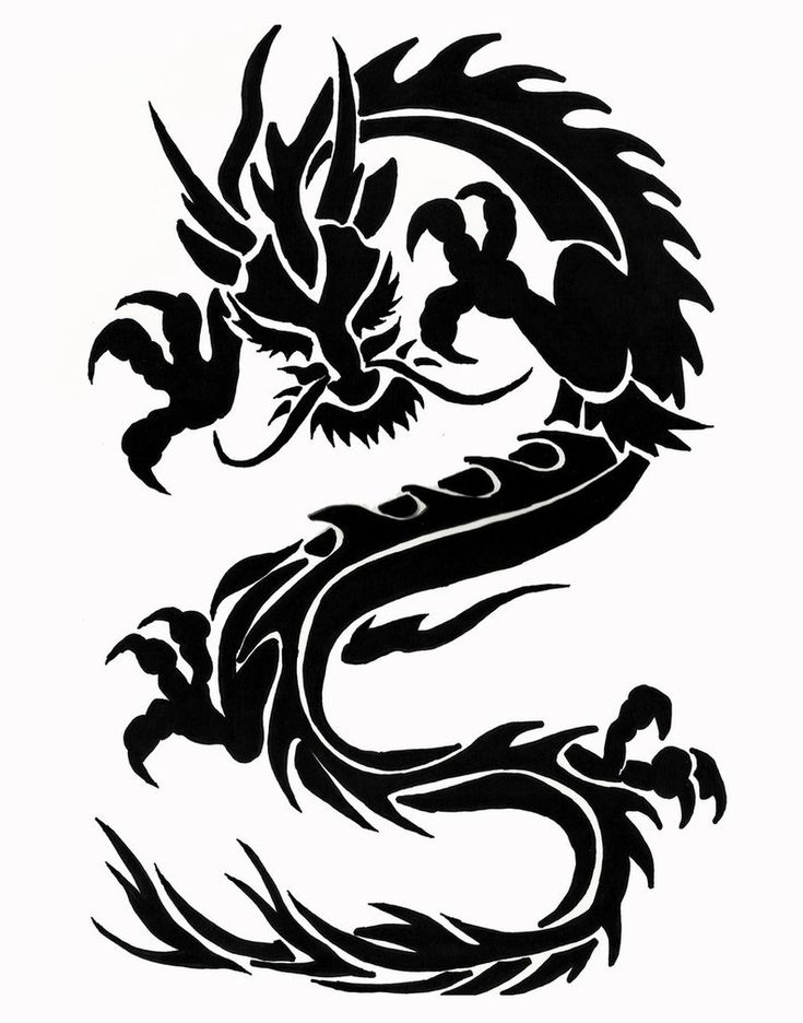 примитивные картинки для тату драконов для мужчин этом одна другая