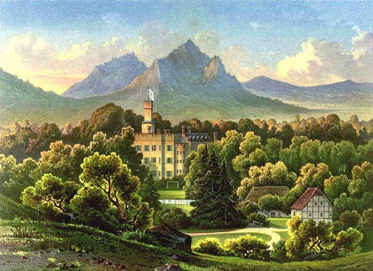 germany, fischbach | Description Schloss Fischbach Sammlung Duncker.jpg