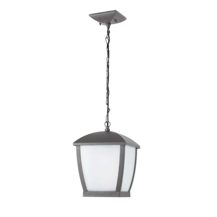 Lámpara colgante techo de jardín clásica #jardin #iluminacion #lamparas
