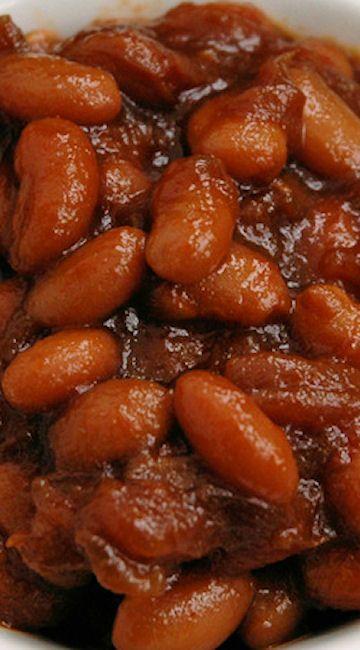 Pressure Cooker Vegetarian Baked Beans