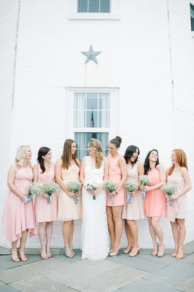 291 best bridesmaids dresses images on pinterest marriage montauk yacht club wedding from brklyn view photography pink bridesmaid dresseswedding ombrellifo Image collections