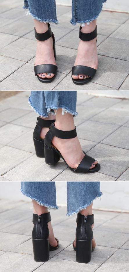 10's trendy style maker 66girls.us! Chunky Heeled Ankle Strap Sandals (DGVZ) #66girls #kstyle #kfashion #koreanfashion #girlsfashion #teenagegirls #fashionablegirls #dailyoutfit #trendylook #globalshopping
