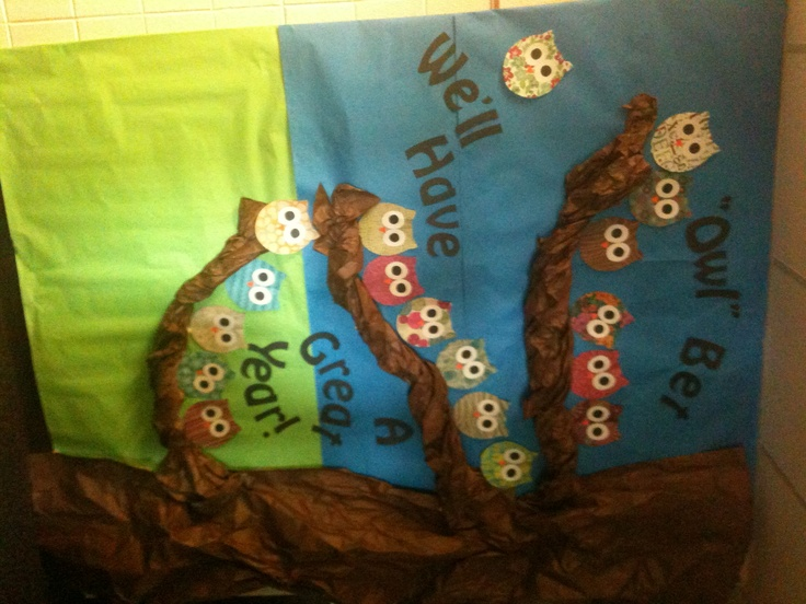 Classroom Bulletin Board Ideas With Owls ~ Owl bulletin board school ideas pinterest