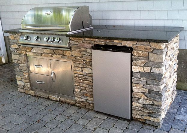 barbq counter kit - Google Search