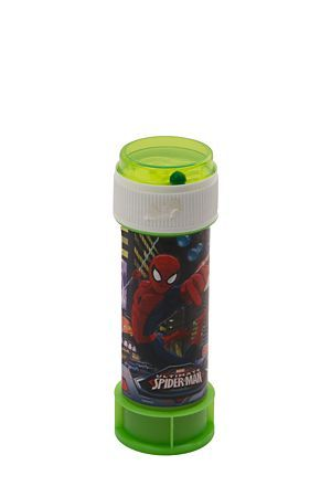 """Your kids will have hours of fun with these spiderman bubbles.<div class=""""pdpDescContent""""><BR /><b class=""""pdpDesc"""">Dimensions:</b><BR />L4xW4xH11 cm</div>"""