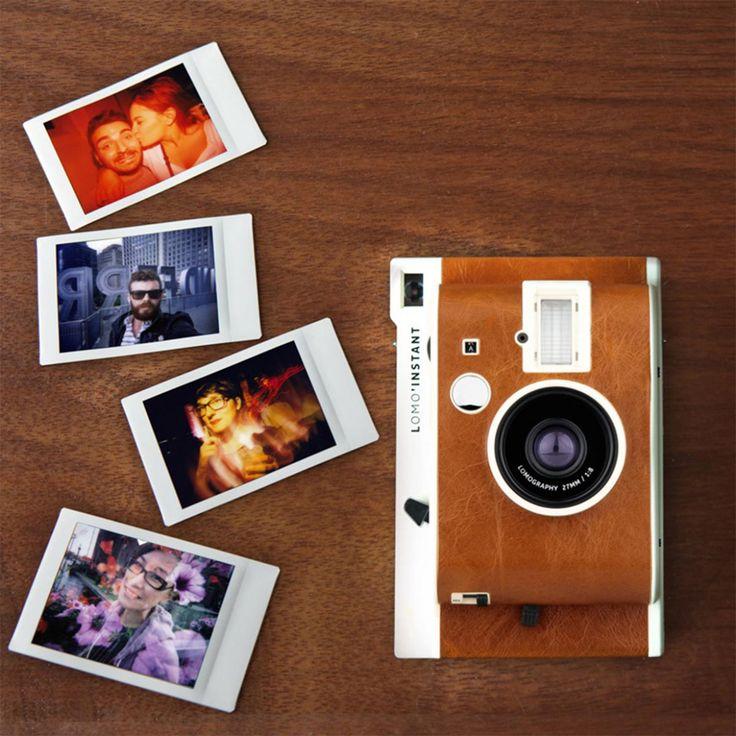Einfach Kult: Die Lomo Instant in verschiedenen Designs für herzhaft verwackelte und farb-unechte Aufnahmen im Kreditkartenformat.