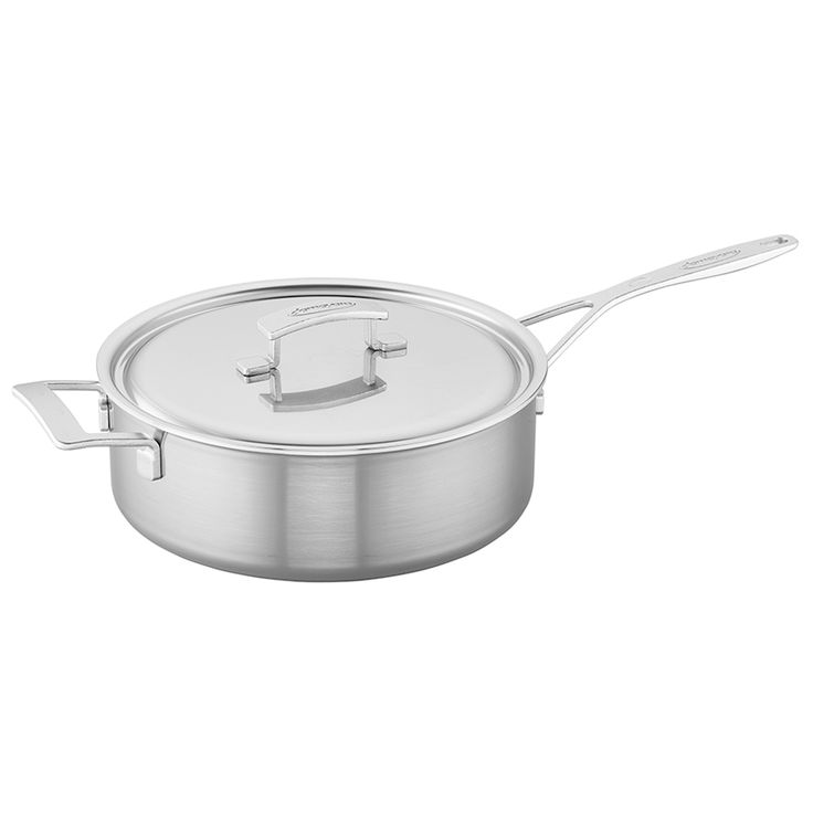 DEMEYERE INDUSTRY 5-PLY 6.5-QUART STAINLESS STEEL SAUTE PAN