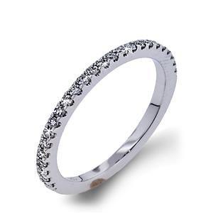 Arthurs Collection Diamond Prong Set White Gold Womens Wedding bands DR4426B-25 #ArthursJewelers