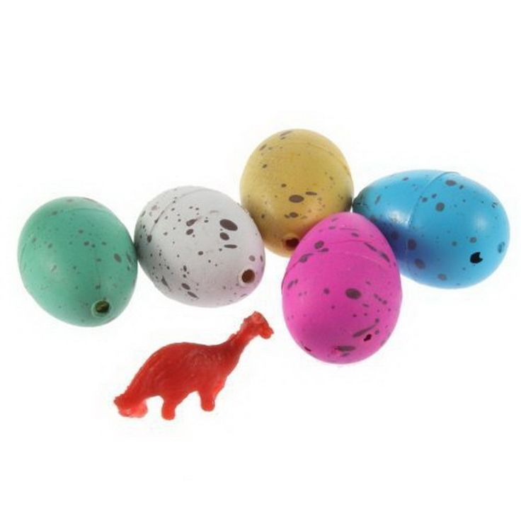 Hot Magic Water Hatching Inflation Growing Dinosaur Eggs Toy For Kids Gift Child Educational Novelty Gag Inflatable Toys